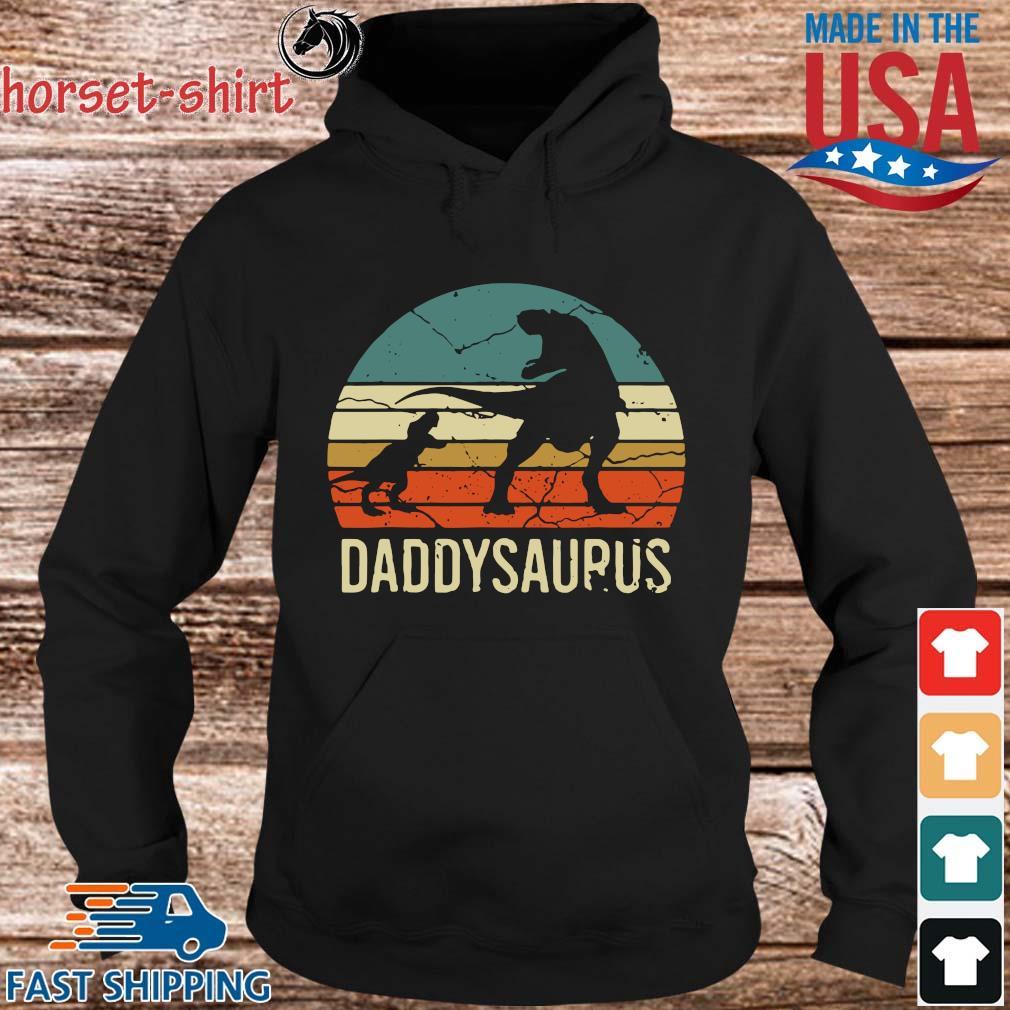 Dinosaur daddysaurus vintage sunset s hoodie den