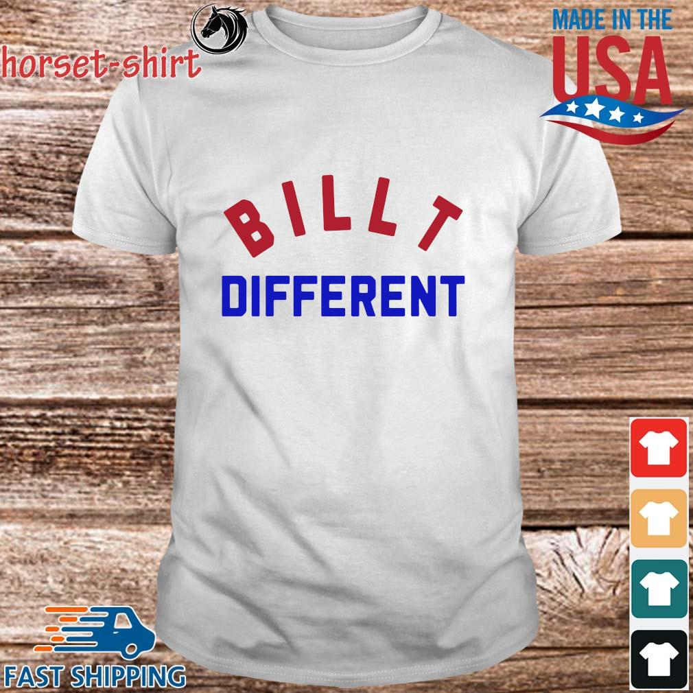 Funny Built different shirt