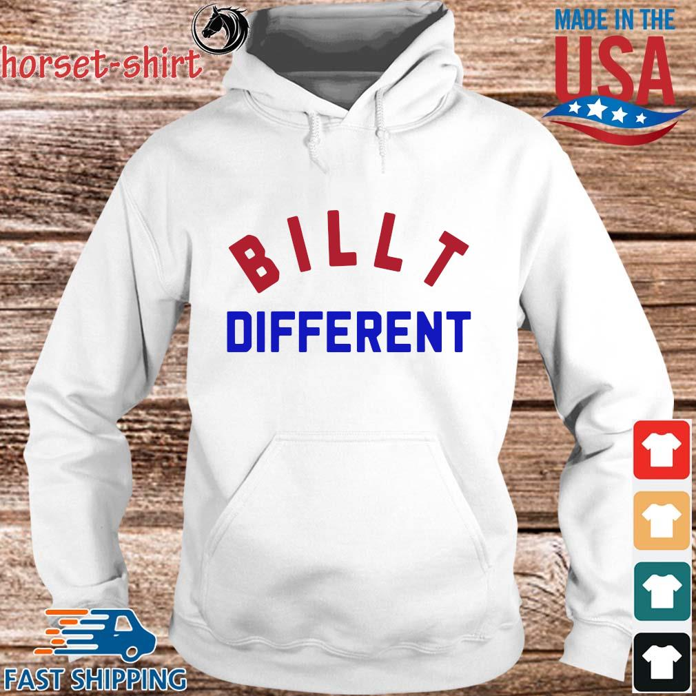 Funny Built different s hoodie trang
