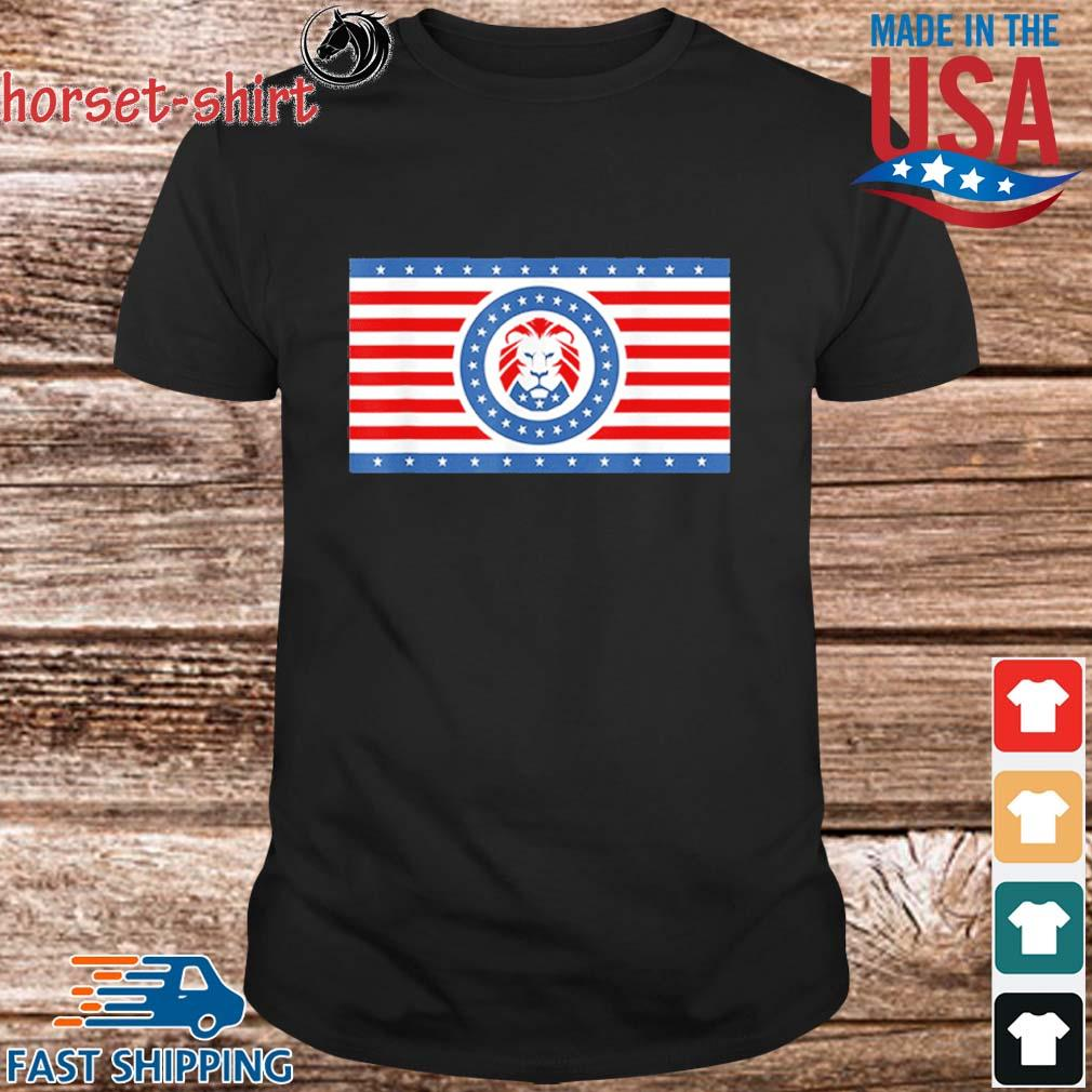 Funny Maga Lion flag Patriot party flag shirt