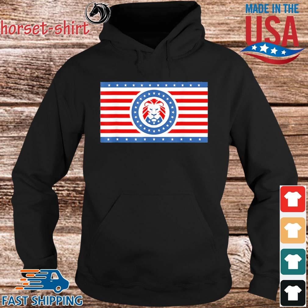 Funny Maga Lion flag Patriot party flag s hoodie den