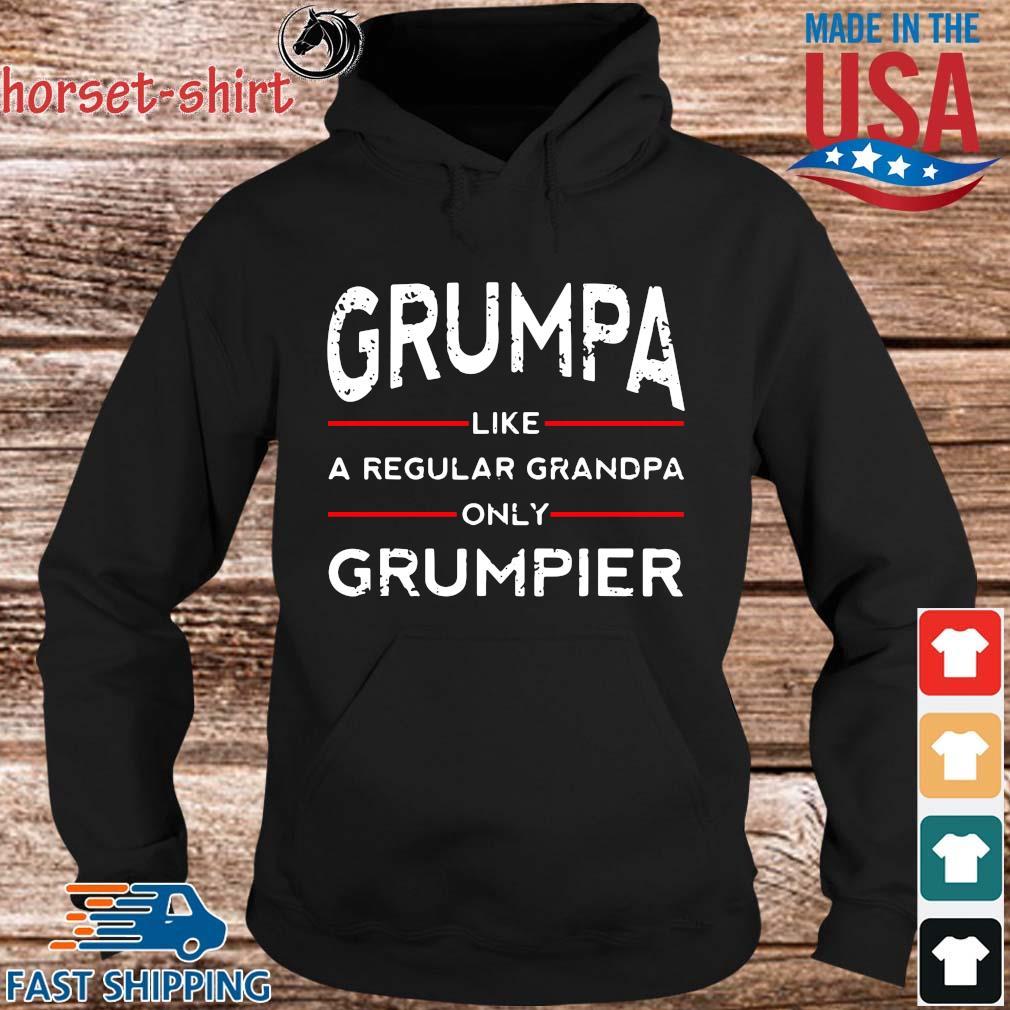 Grumpa like a regular grandpa only grumpier s hoodie den