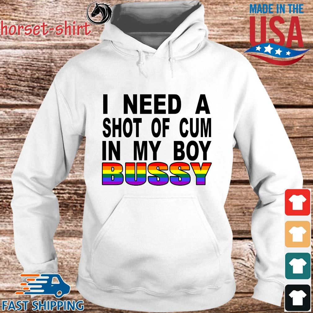 LGBT I need a shot of cum in my boy bussy s hoodie trang