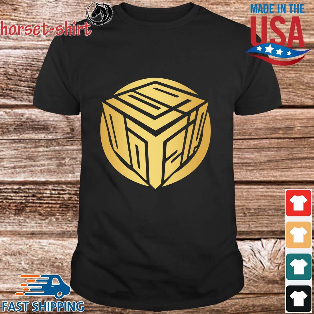 Logdotzip Merch Gold Foil Shirt