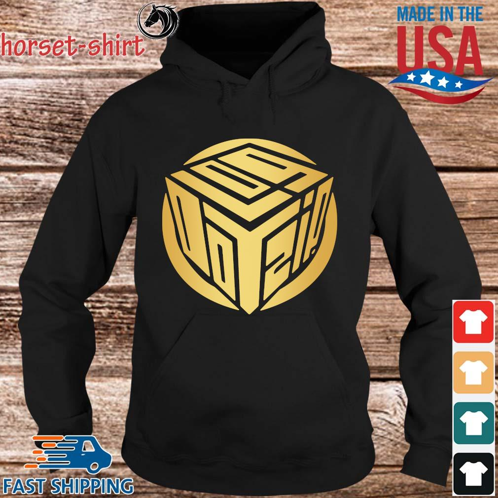 Logdotzip Merch Gold Foil Shirt hoodie den