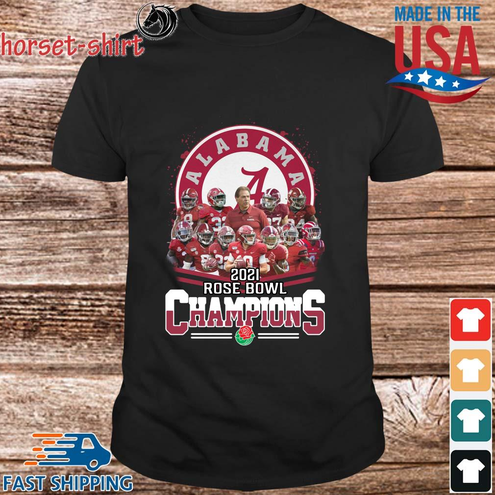 Official Alabama Crimson Tide 2021 Rose Bowl Champions shirts