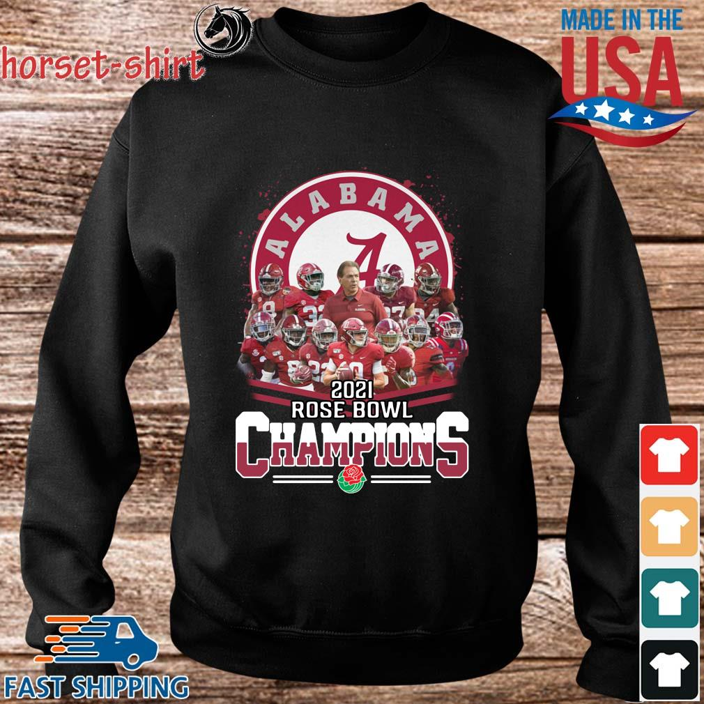 Official Alabama Crimson Tide 2021 Rose Bowl Champions shirts Sweater den
