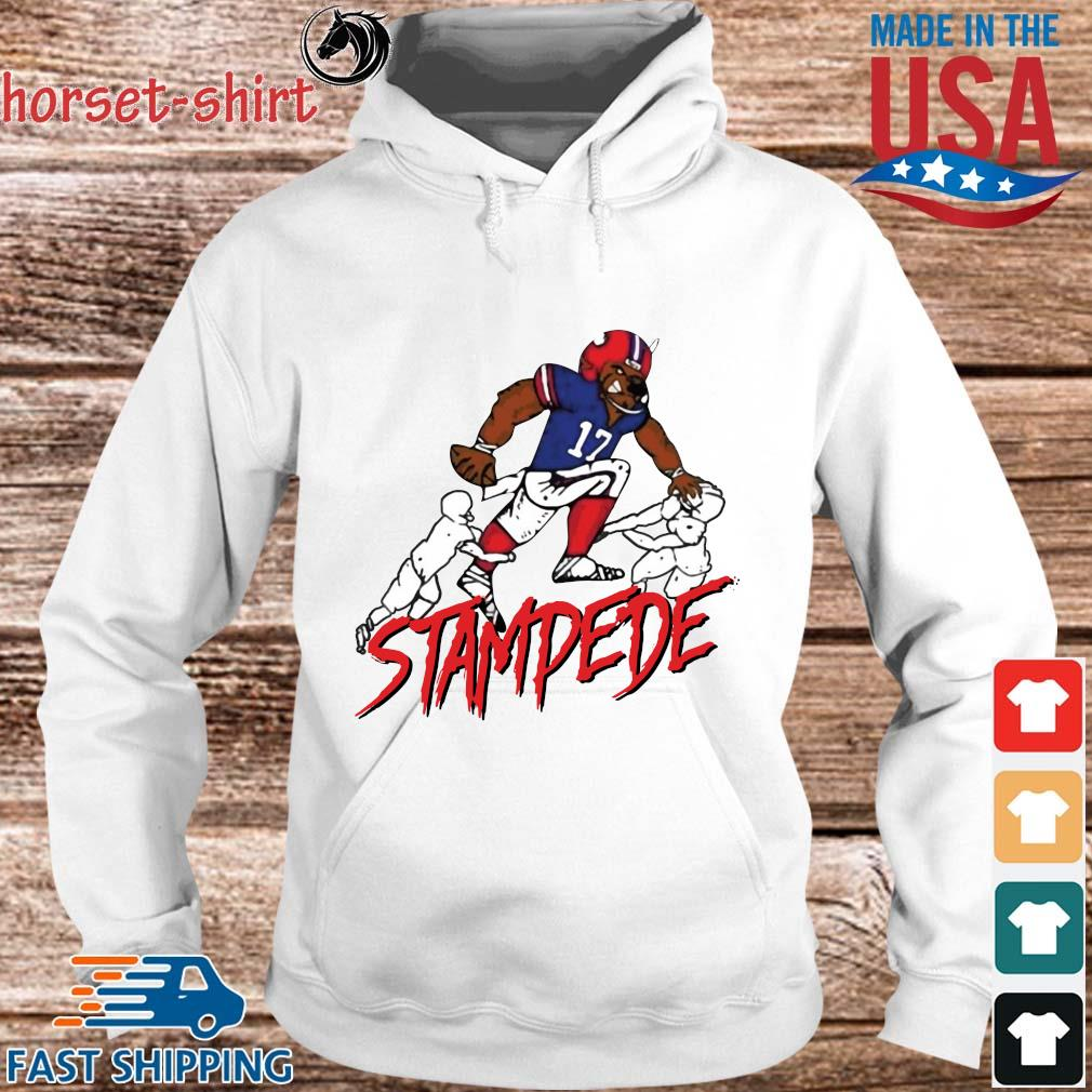 Official Buffalo Bills stamdede s hoodie trang