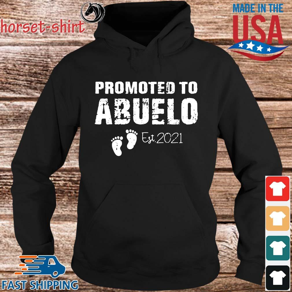 promoted to abuelo est 2021 s hoodie den