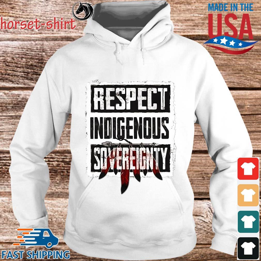 Respect indigenous sovereignty s hoodie trang