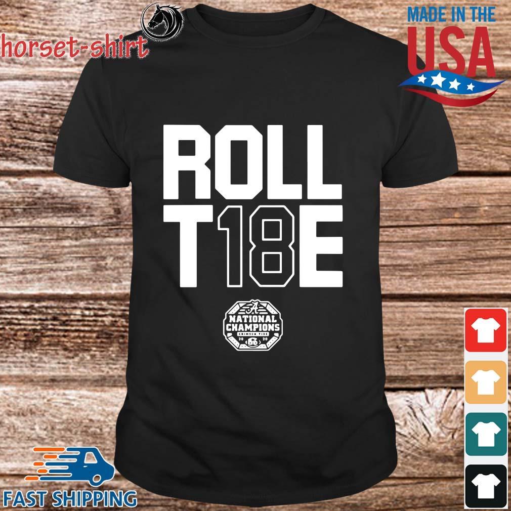 Roll 18 Tide Alabama Crimson Tide shirt