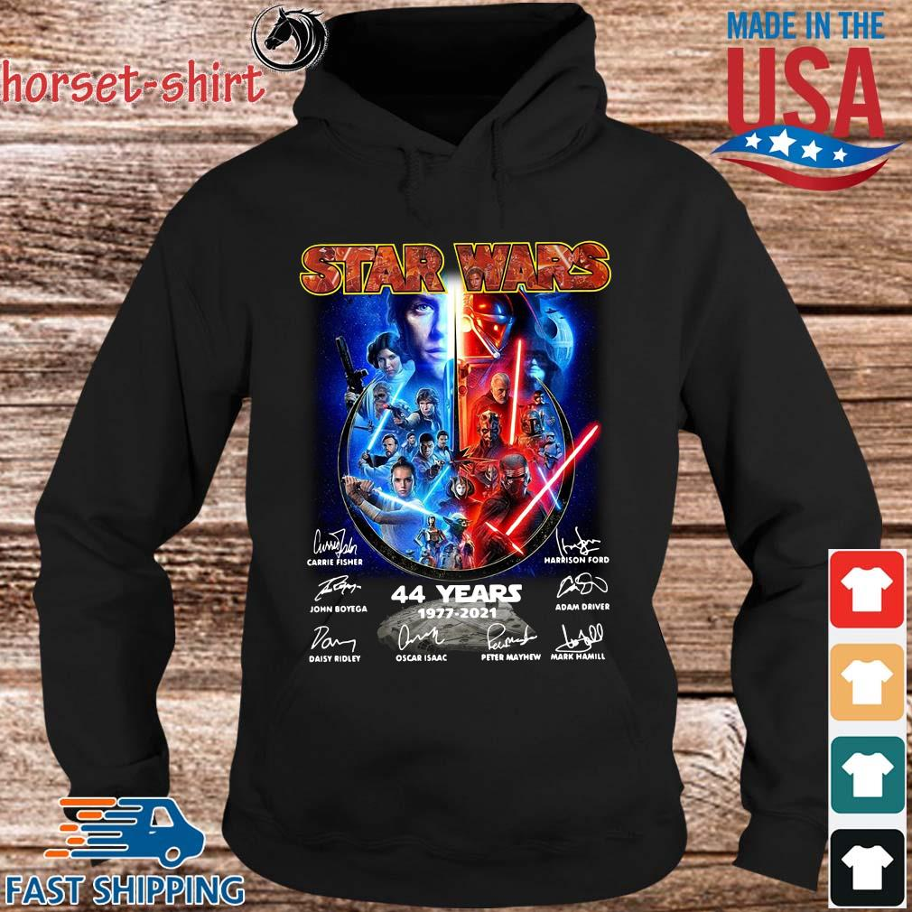 Star Wars 44 years 1977-2021 signatures s hoodie den