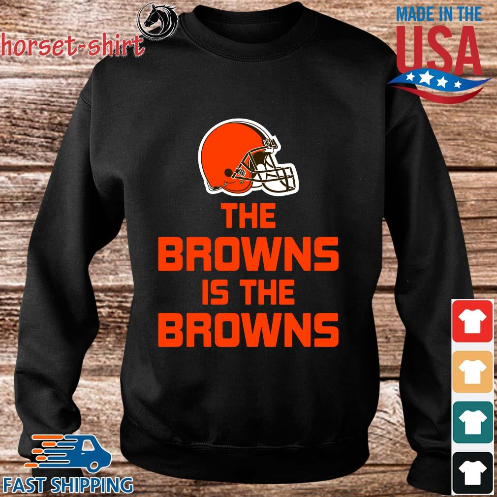 The Cleveland Browns is the Browns s Sweater den