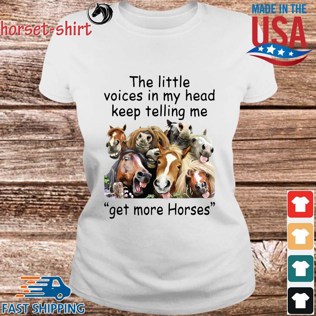 The little voices in head keep telling Me get more Horses s Ladies trang