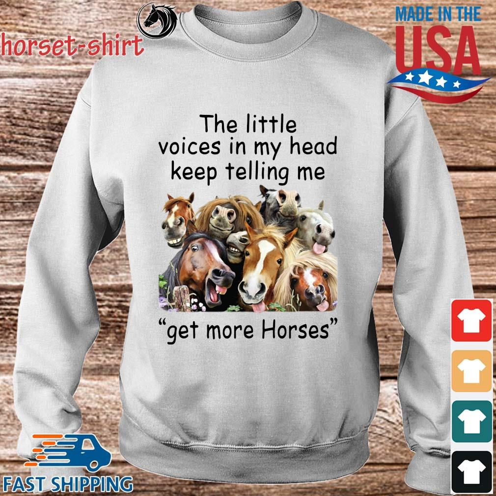 The little voices in head keep telling Me get more Horses s Sweater trang