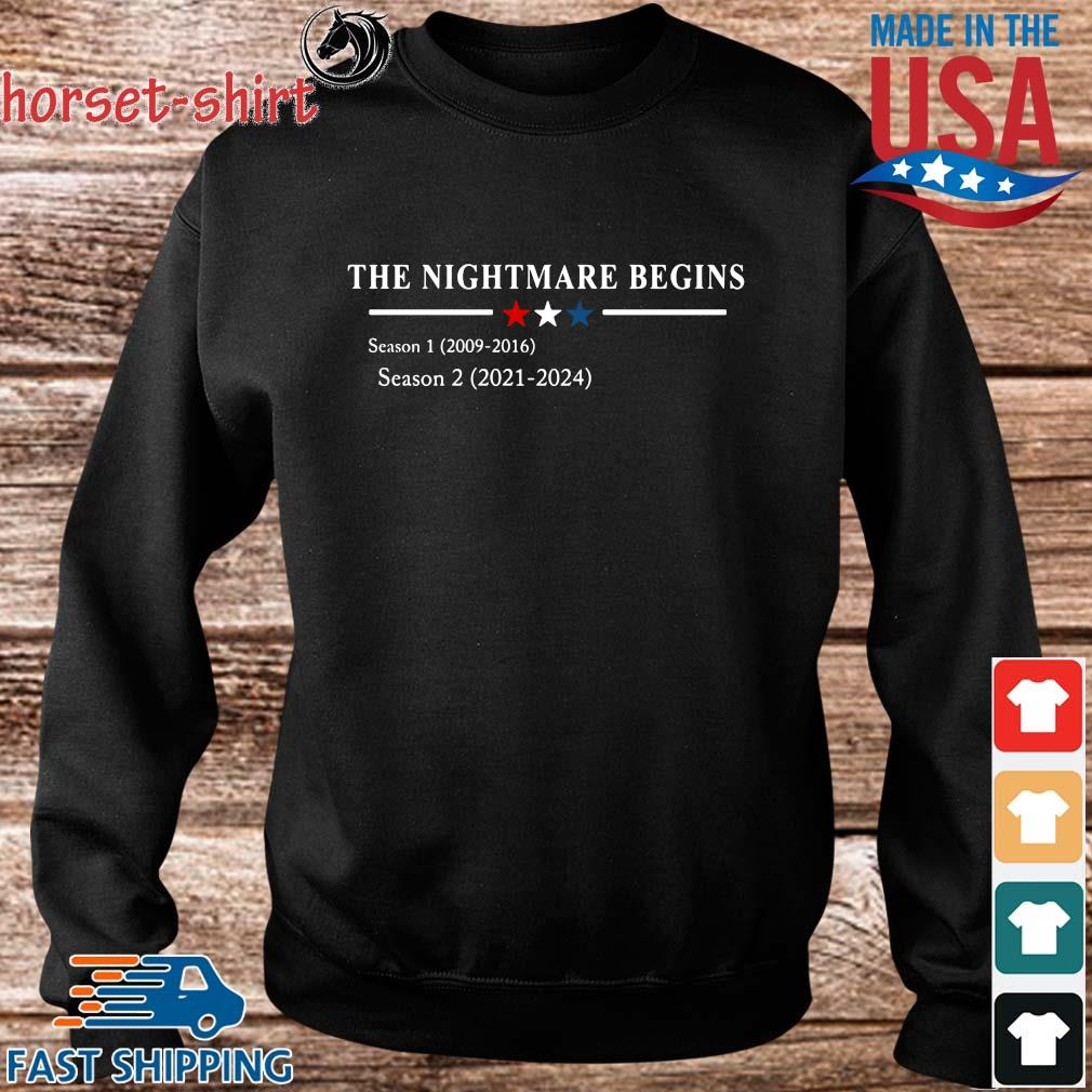 The nightmare begins s Sweater den