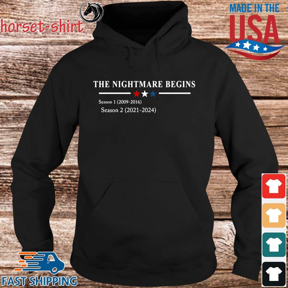 The nightmare begins s hoodie den