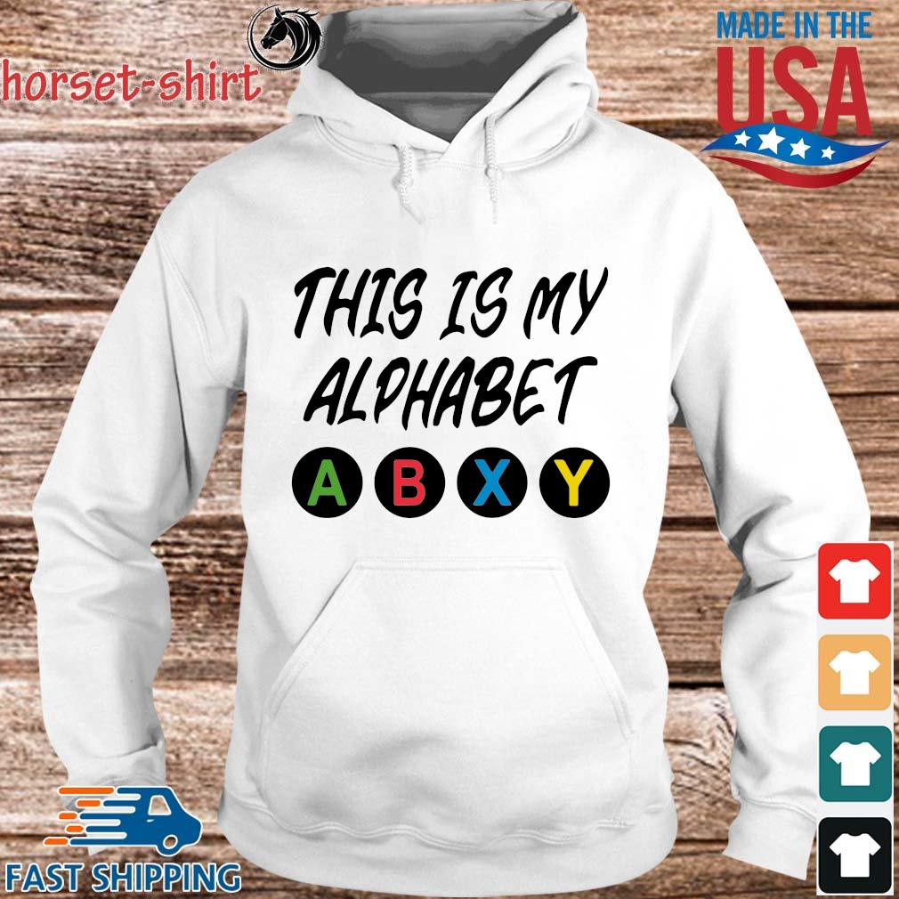 This is my alphabet abxy s hoodie trang