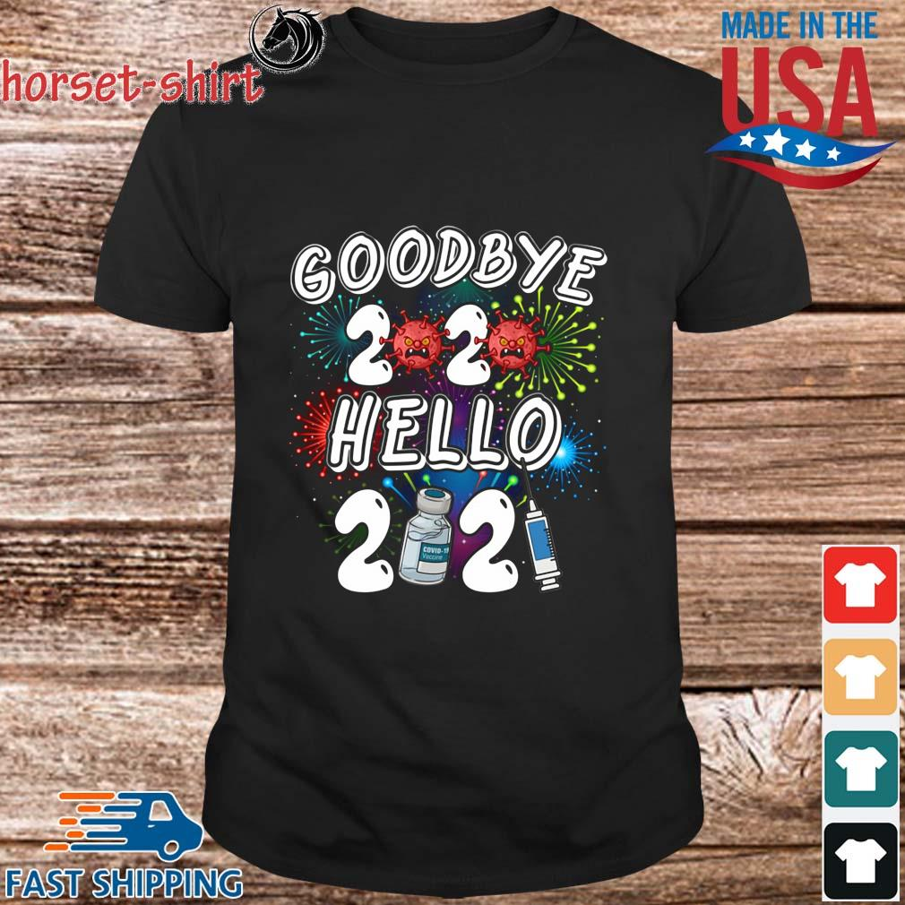 Viruscorona goodbye 2020 hello 2021 shirt