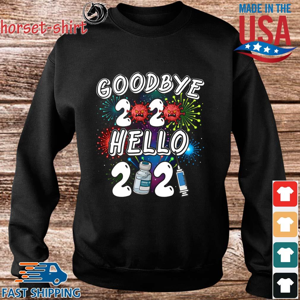 Viruscorona goodbye 2020 hello 2021 s Sweater den
