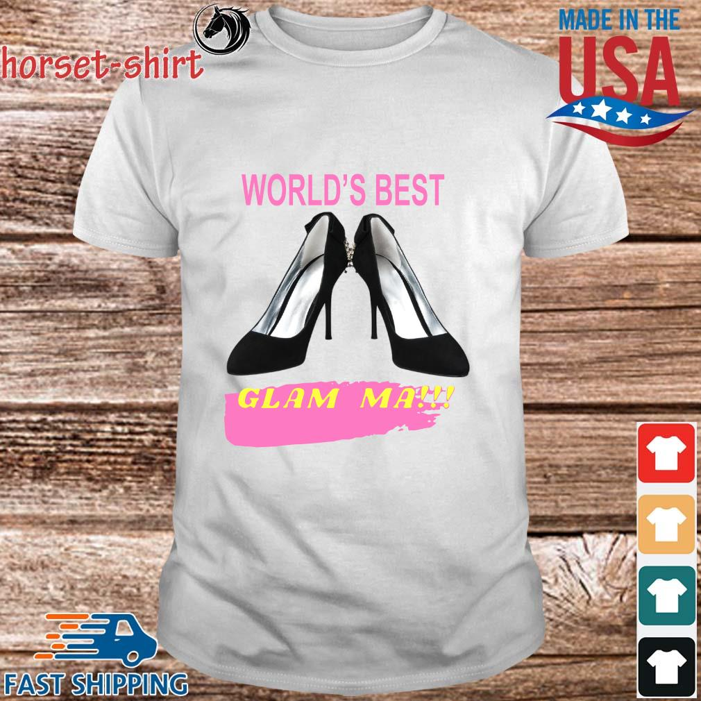 World's best glam ma shirt