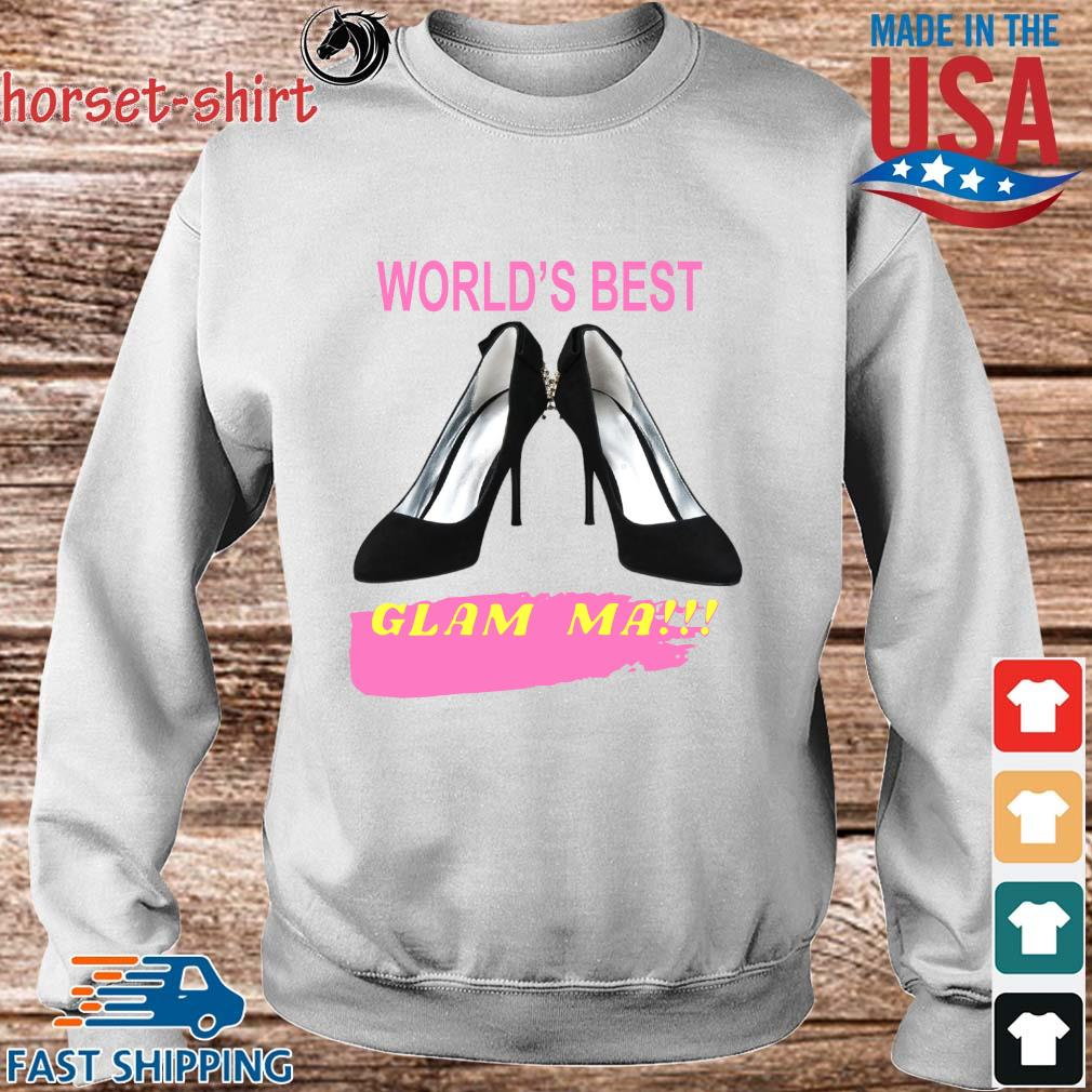 World's best glam ma s Sweater trang