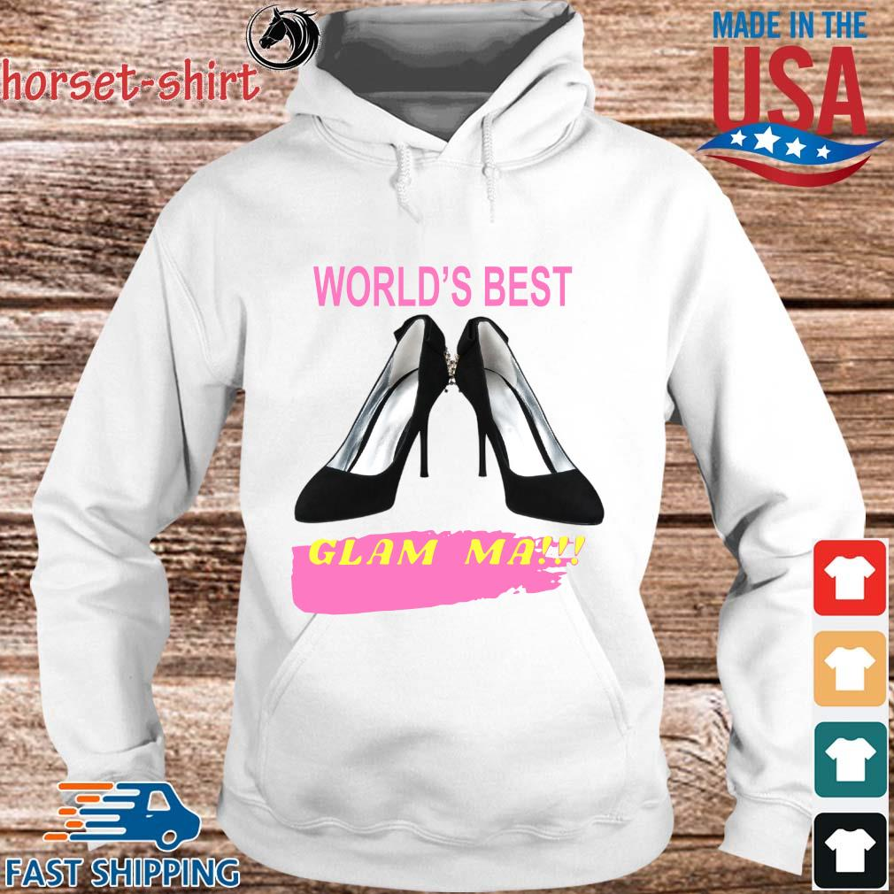 World's best glam ma s hoodie trang